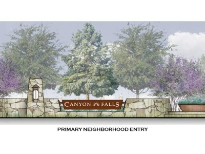 Canyon Falls Entry rendering