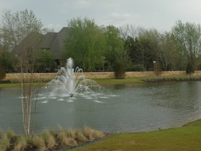 Storm Drainage Retention Pond