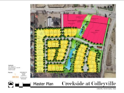 Master Plan for Creekside at Colleyville - Phase I
