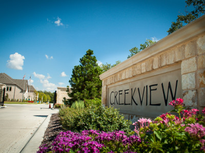 Secure Gated Entrance to Creekview Development