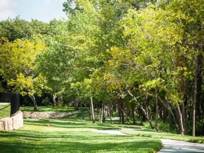 Greenspace in Creekview Along 'Big Bear Creek'