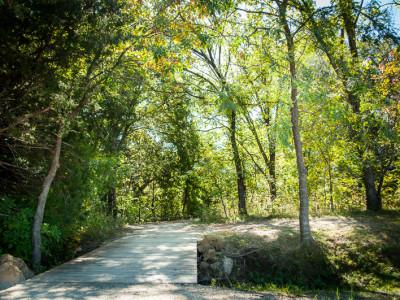 Walking Trail through The Villages at Bear Creek