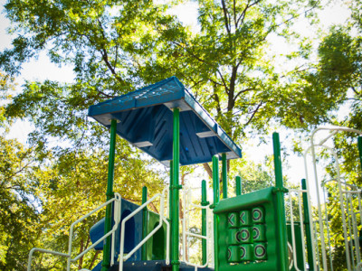Playground in One of The Villages at Bear Creek Parks