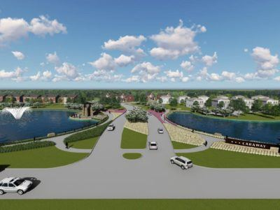 Artists Rendering of Caraway Development in Haslet TX