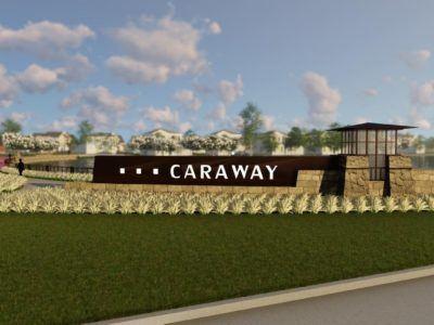 Artists Rendering of Caraway Development in Haslet TX